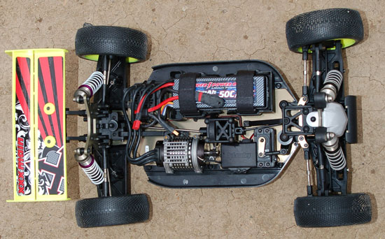Project HPI Vorza Chassis