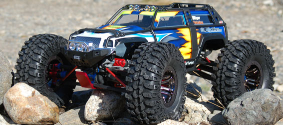 Project Traxxas Summit Crawler Build