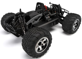 HPI Savage XS Flux Chassis Shot
