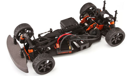 HPI Sprint 2 Flux RTR Waterproof Chassis Shot