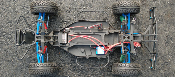 Project: Team Associated SC10 On-Road Short Course Truck Chassis Shot