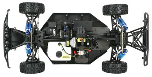 Losi 5IVE-T 1/5 Scale Chassis Shot