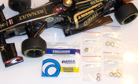 How To: Install a Boca Bearing Kit in your Tamiya F104X1