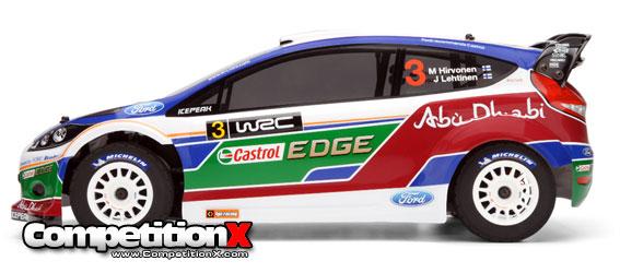 HPI WR8 3.0 Ford Fiesta Abu Dhabi WRC Nitro Rally Car