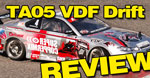 Review: Tamiya TA05 VDF Gold Edition Drift Car