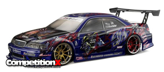 HPI Weld JZX100 Toyota Mark II Clear Body
