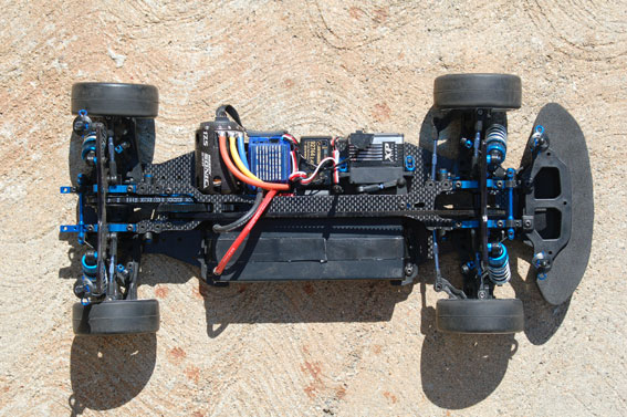 Review: Team Associated TC6.1 Chassis Shot