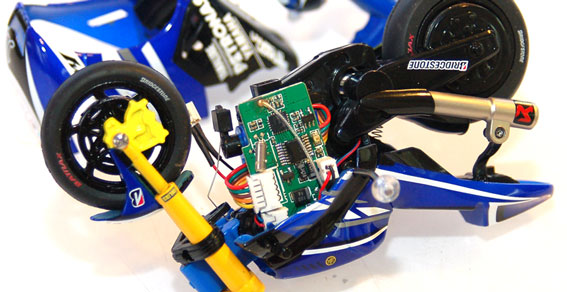 Review: Kyosho Mini-Z Moto Racer Chassis Shot