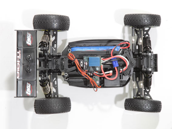 Review: Losi Mini 8ight Chassis Shot