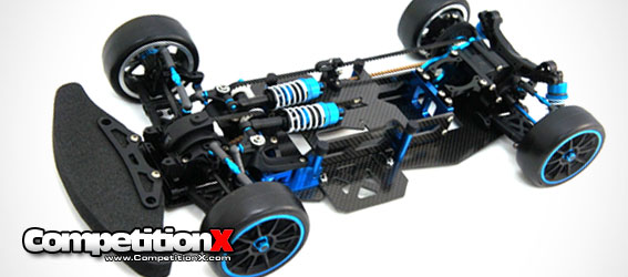 R Sector Carbon Chassis Conversion Kit for the Tamiya TA06