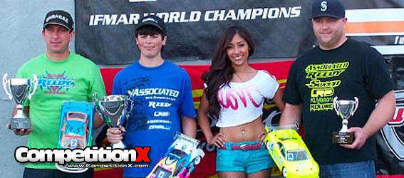 Team Associated Podiums at the 2012 Reedy Race of Champions