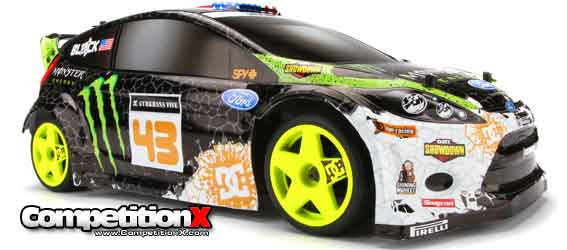 HPI Ken Block WR8 Flux - Ford Fiesta