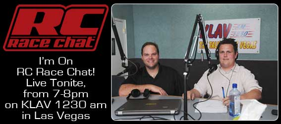 Tony Phalen on RC Race Chat Tonight!