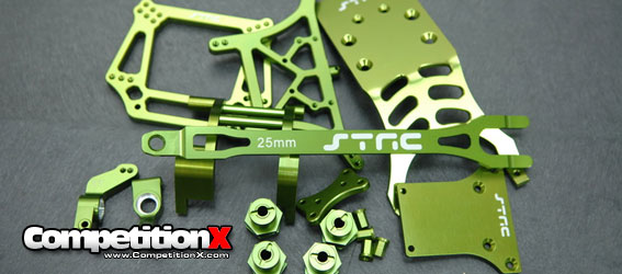 STRC Green Option Parts for Slash 2wd and Monster Jam Trucks