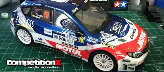 Tamiya XV-01 Rally Chassis  Be Prepared