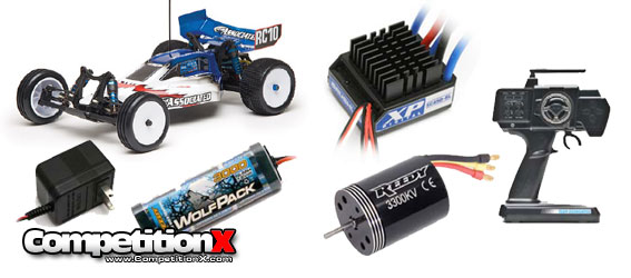 Team Associated RC10B4.1 Brushless NiMH Combo
