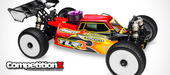JConcepts Silencer Body for TLR 8IGHT 3.0