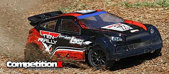 Losi TEN-Rally X 4WD Rally Car