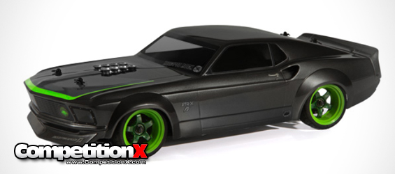 HPI Vaughn Gittin Jr. RTR-x Nitro RS4 3 EVO+ Drift Car