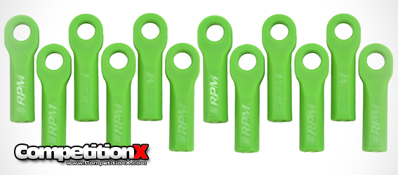 RPM Green Ballcups for Traxxas Vehicles