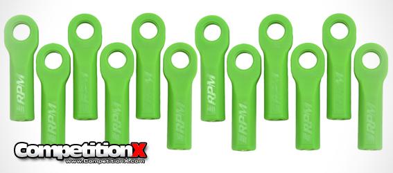 RPM Green Ballcups for Traxxas Vehicles