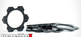 AVID RC Carbon Hex Track Width Spacers for 1/8 Scale