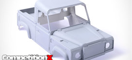 RC4WD Scale Land Rover Defender D90 Hard Plastic Body