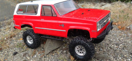 Vaterra Ascender  K5 Blazer Build