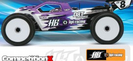 Hot Bodies D8T Tessmann Edition 4WD Truggy Kit