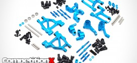 Yeah Racing Aluminum Long-Span Suspension And Performance Upgrade Kit for Tamiya M05/M06