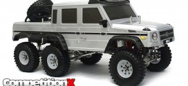 Boom Racing 1/10 Scale Mercedes G63 6×6 Electric Scale Truck