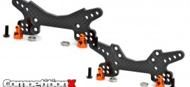 Exotek Racing Carbon Fiber Shock Towers for HPI Sprint 2