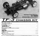 Kyosho Pure Ten TF-3 Manual