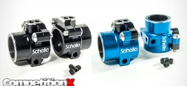 Schelle Racing Aluminum Rear Hubs for Team Associated B5, B5M, T5M