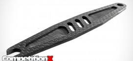 Schelle Racing Carbon Fiber Battery Strap for Kyosho Lazer ZX6