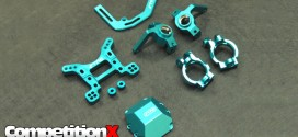 STRC CNC-Machined Blue Aluminum Parts – Axial Yeti