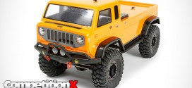 Axial Jeep Mighty FC  Concept Clear Body