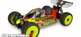 JConcepts Striker Body for Team Associated RC8B3 Nitro Buggy