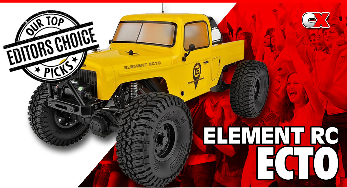 Editors Choice - Element RC ECTO Trail Truck | CompetitionX