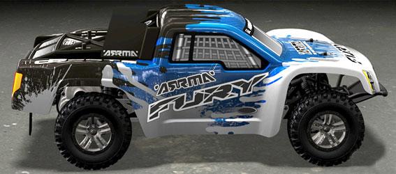 Arrma Fury Short Course Truck
