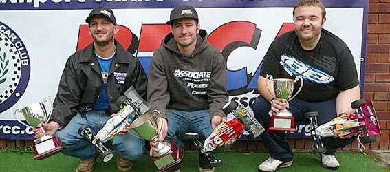 Neil Cragg Leads BRCA Nationals Sweep