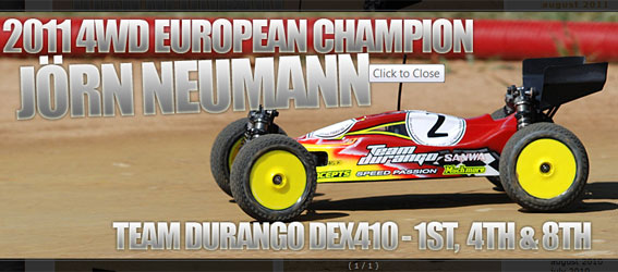 Jörn Neumann takes 2011 4WD Euros with DEX410
