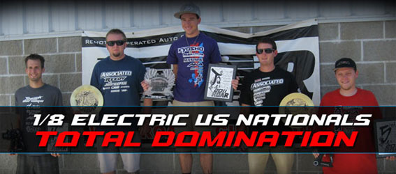 Team Orion Dominated Electric 1/8 Nationals