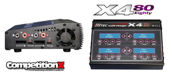 Hitec X4-80 4-Port Multicharger