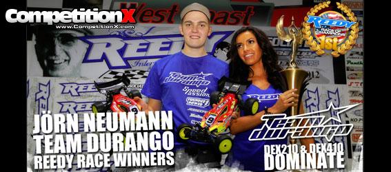 Jorn Neumann and Team Durango win 2012 Reedy Race of Champions