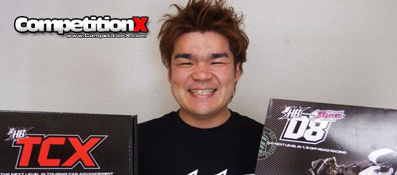Shin Adachi joins Team HB