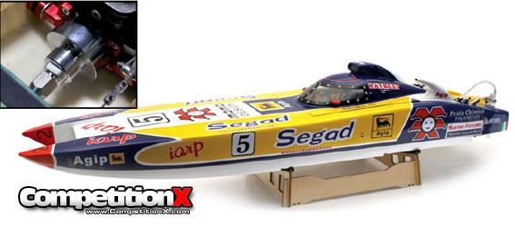"""Venom Segad C1 56"""" RTR Gas Boat w/ Clutch"""