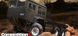Boom Racing 1/10 Scale 6x6 Off-Road Military Truck
