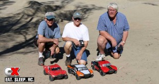 RC Sighting – Bob, Bill and Kent with their 4WD Short Course Trucks
