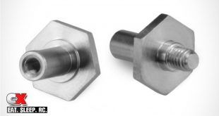 JConcepts Titanium Front Axles for the TLR 22 3.0